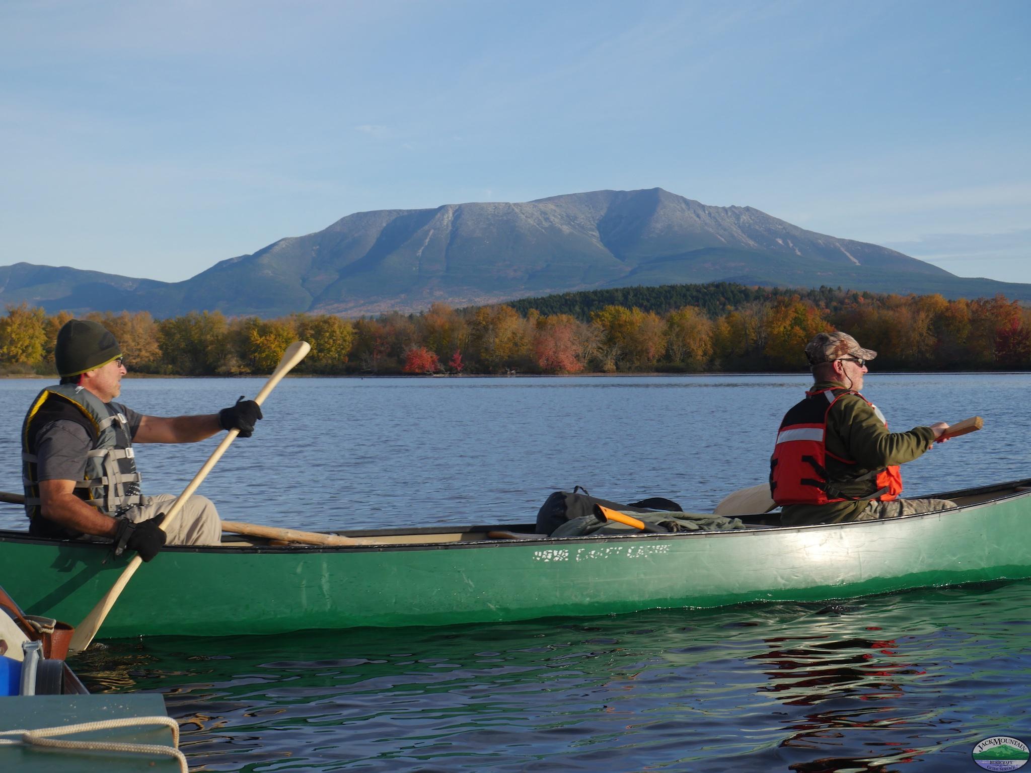 Katahdin & Canoe