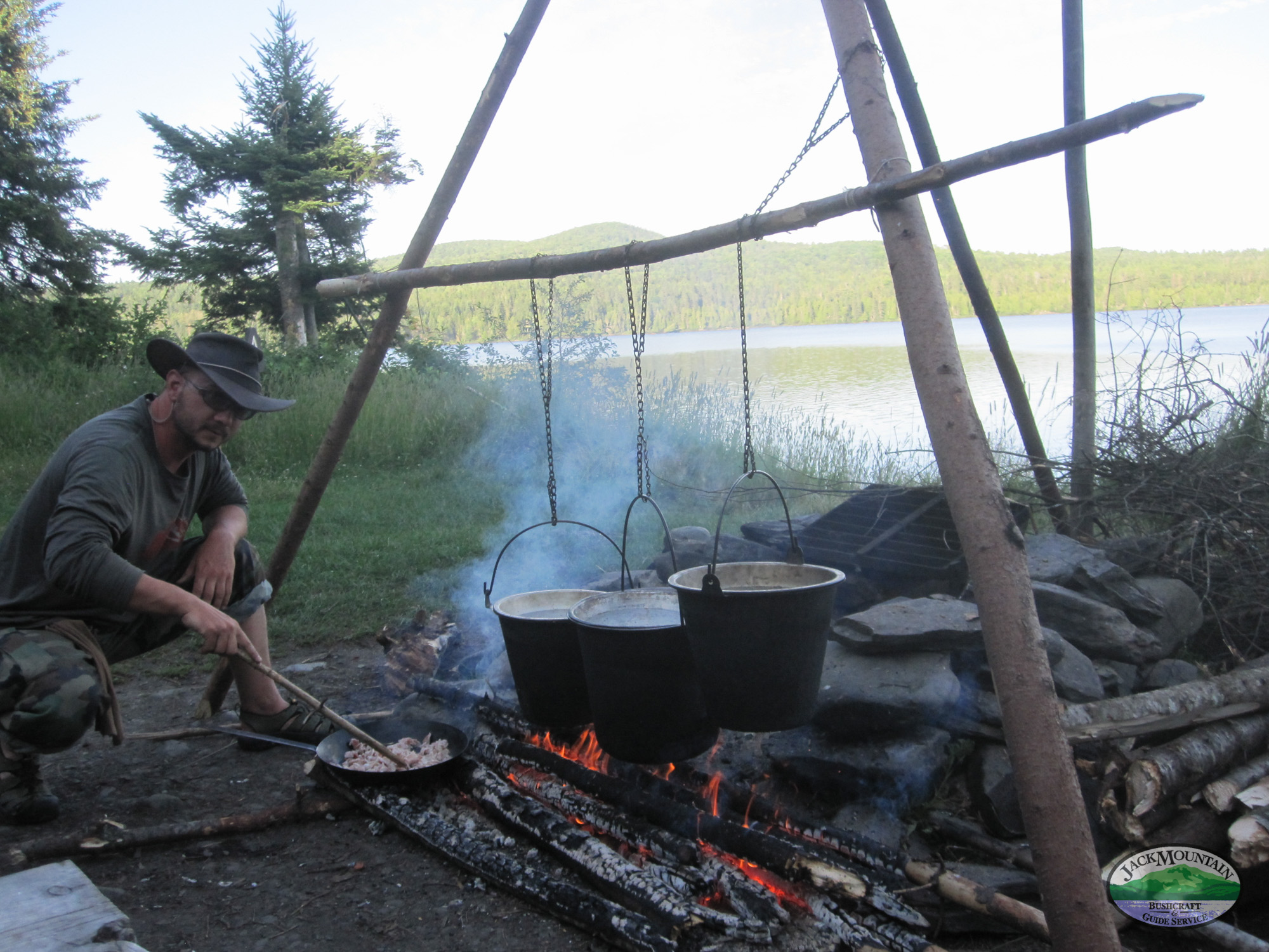 Cooking At Round Pond
