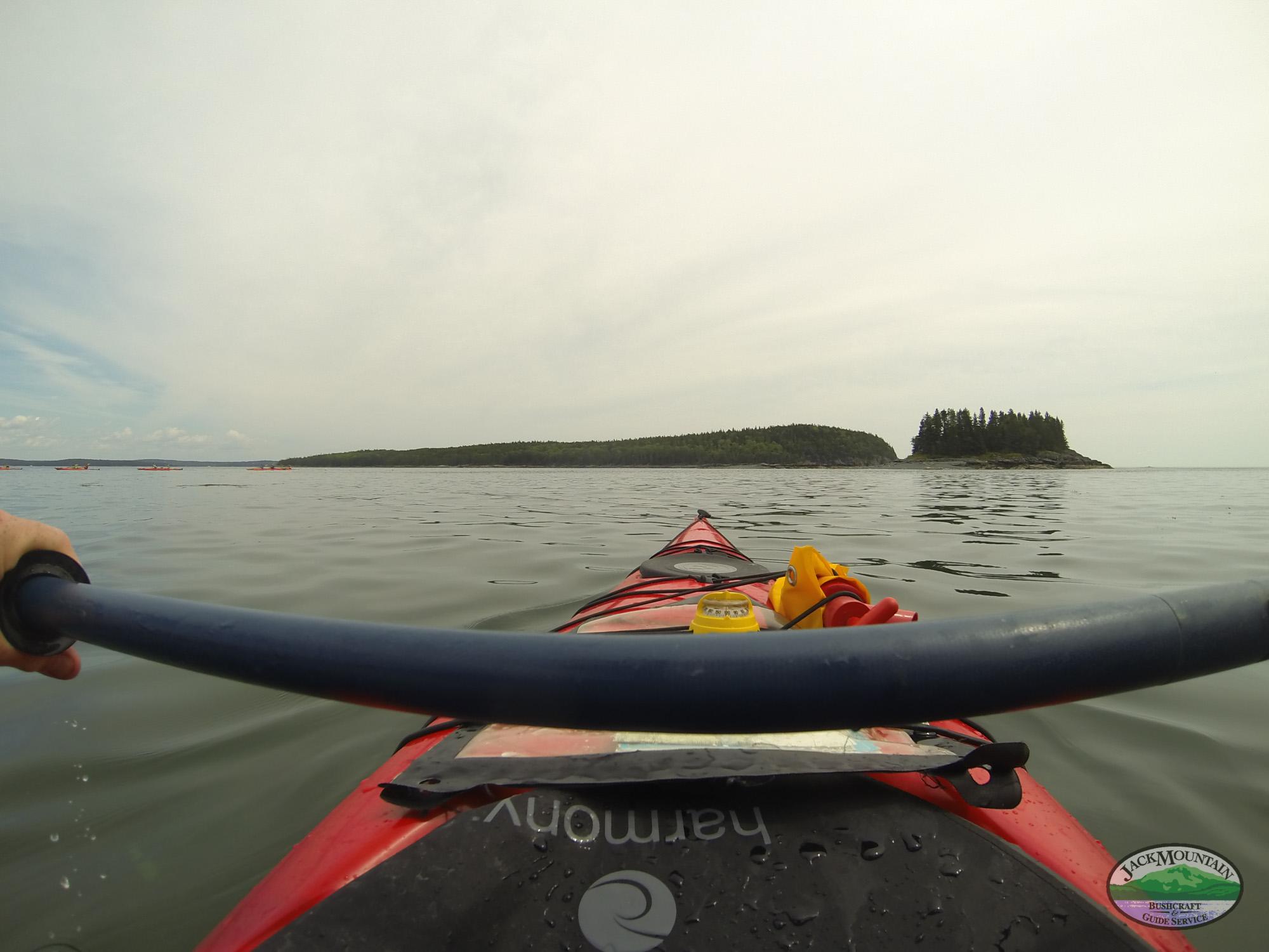 Kayak Paddle & Islands